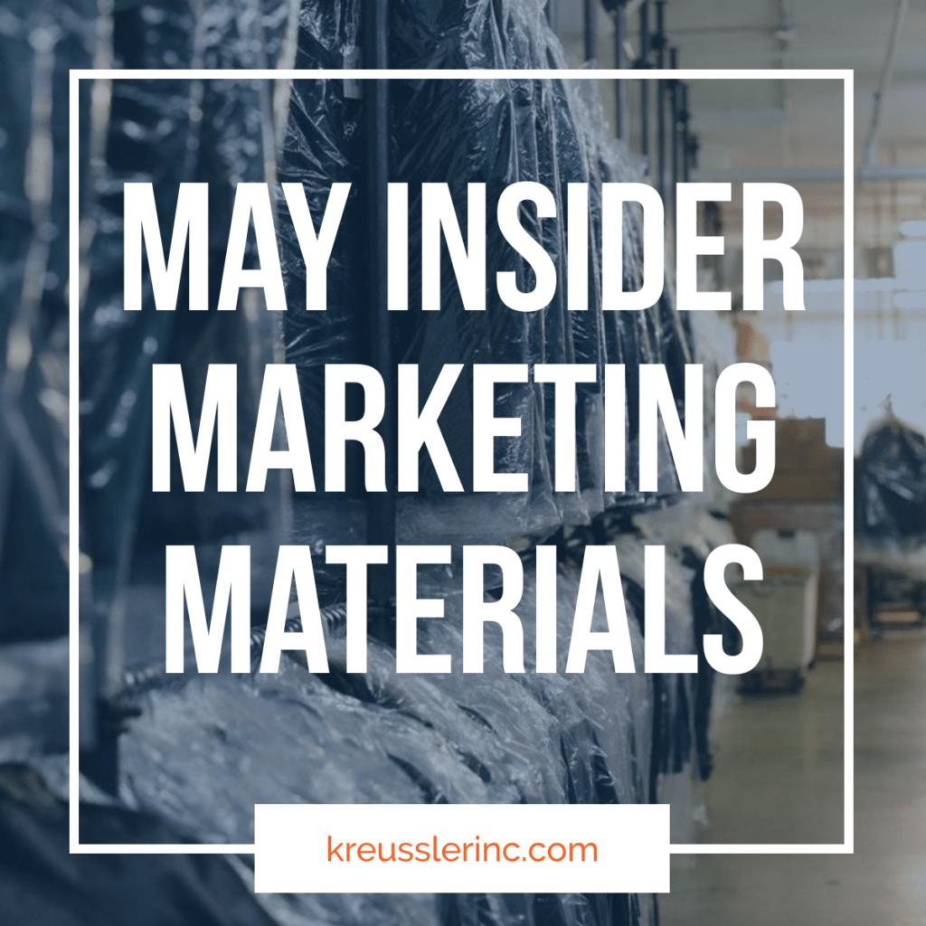 May Insider Marketing Materials