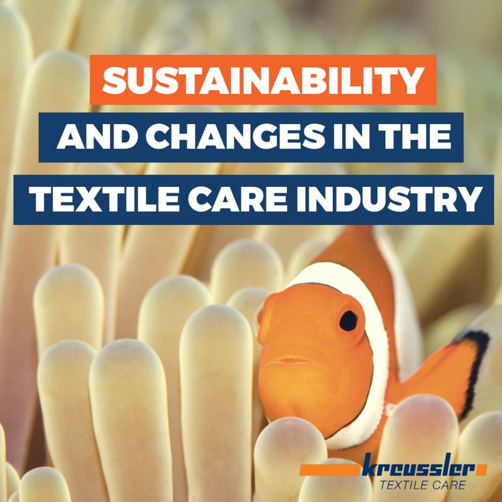 Sustainability and Changes in the Textile Care Industry