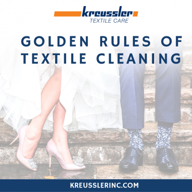 Kreussler's Golden Rules of Textile Cleaning