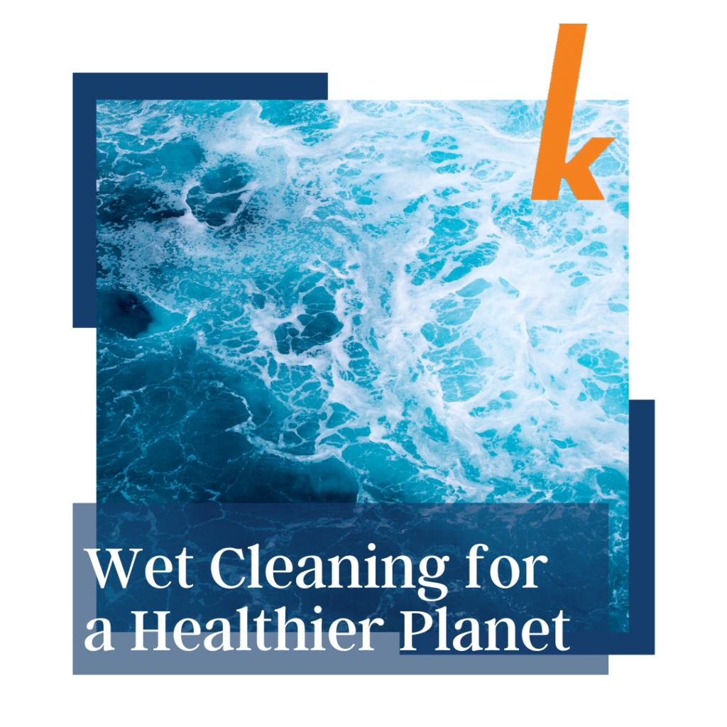 wet cleaning for a healthier planet - photo of blue ocean